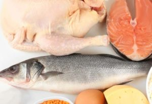 eating fish and chicken is healthier